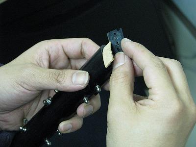 クラリネットの修理中(リペア,調整) 2009.5/11 画像1