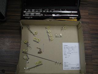 ムラマツ フルート M-85 修理受付 2011.5/2